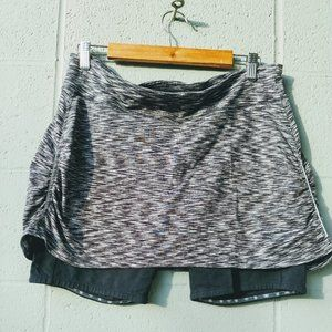 Spacedye 2 in 1 Contender Activewear Skort XL